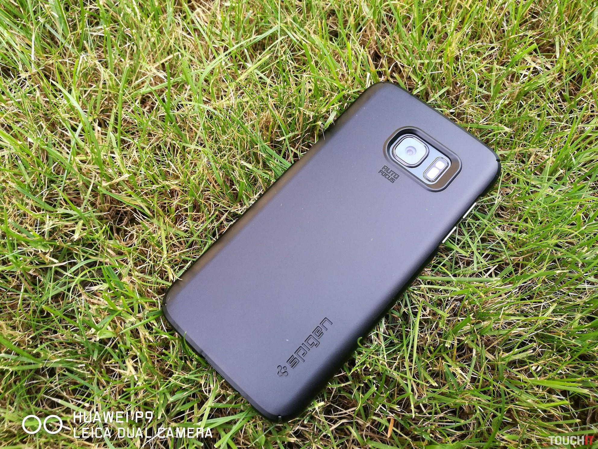 Kvalitn Ochrana Pre Samsung Galaxy S7 Edge Spigen Carbon Case