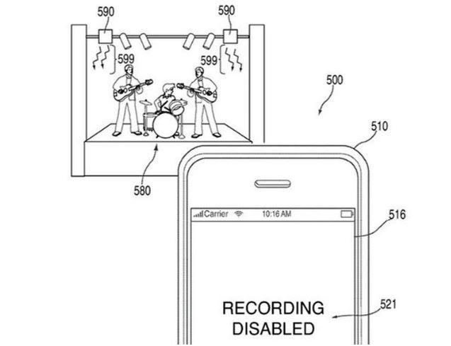 Nový patent Applu opisuje technológiu, ktorá môže vypnúť fotoaparát v telefóne na diaľku. Napríklad počas koncertov