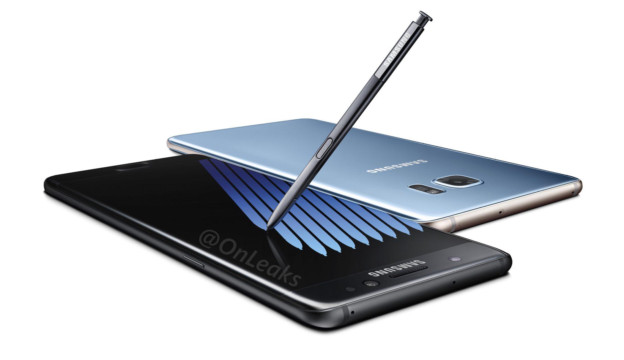 ff54a35dc Samsung Galaxy Note 7 z každej strany a nové okuliare Gear VR k tomu ...