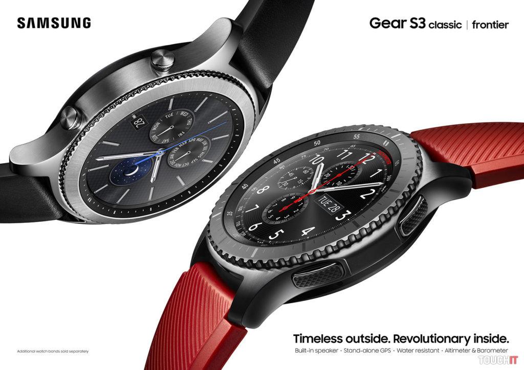 IFA 2016  Samsung predstavil Gear S3 (doplnené)  c46a3e71e1
