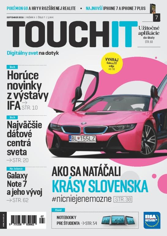 Septembrové číslo TOUCHIT už v predaji