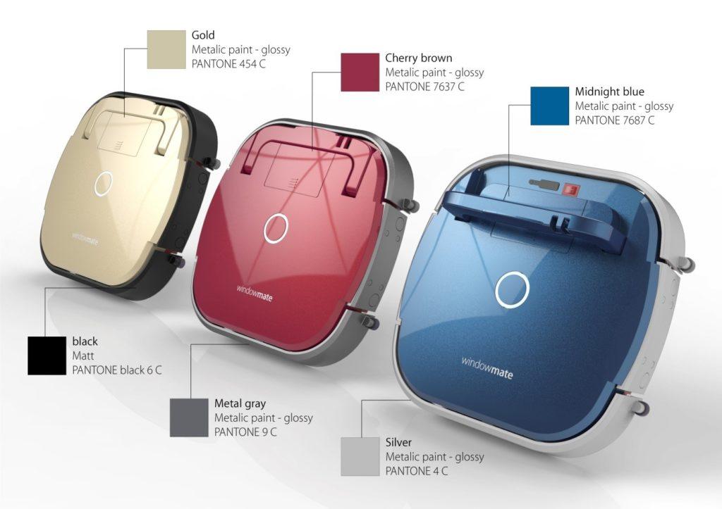 Robot bude dostupný vo viacerých farbách