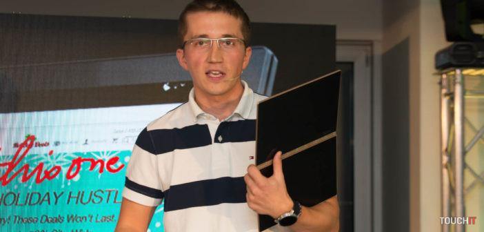 VIDEO TOUCHIT: Lenovo predstavuje novinky radu Yoga na Slovensku. Modely Yoga 910 a Yoga Book (doplnené o 2 videá)