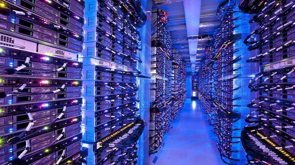 Servery v dátovom centre Microsoftu v Chicagu