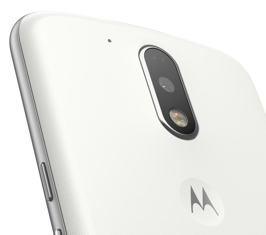 Detail fotoaparátu Lenovo Moto G4 Plus