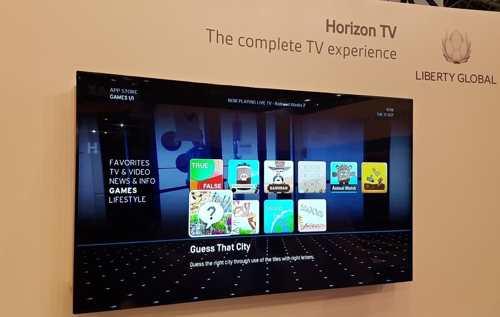 Horizon TV spája nielen sledovanie TV, ale aj špecializované aplikácie a hry