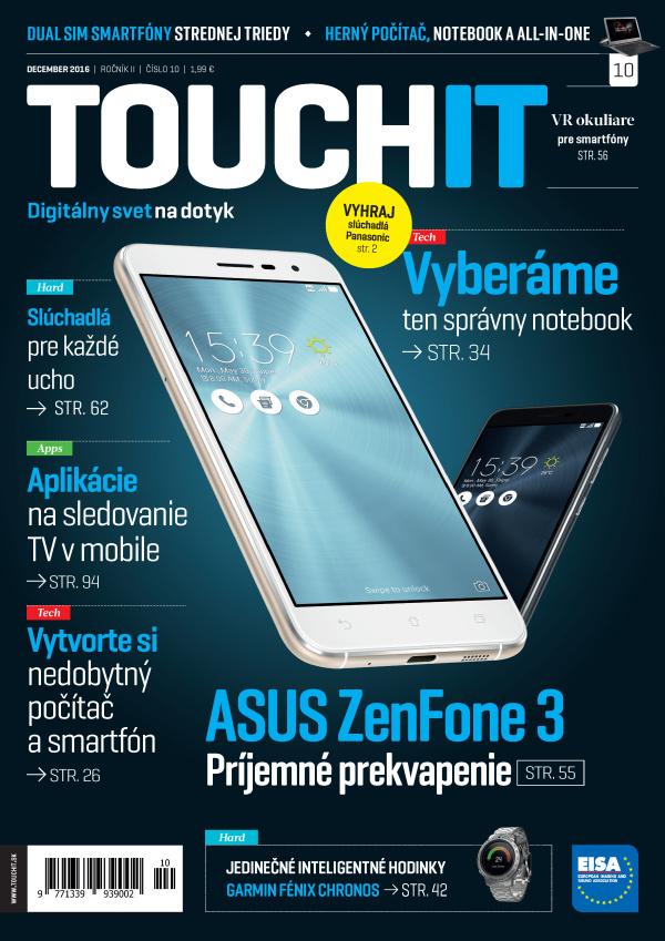 Nové číslo časopisu TOUCHIT v predaji