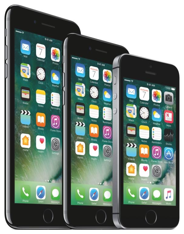 iPhone 7 je pri pohľade spredu naozaj na nerozoznanie od svojich predchodcov