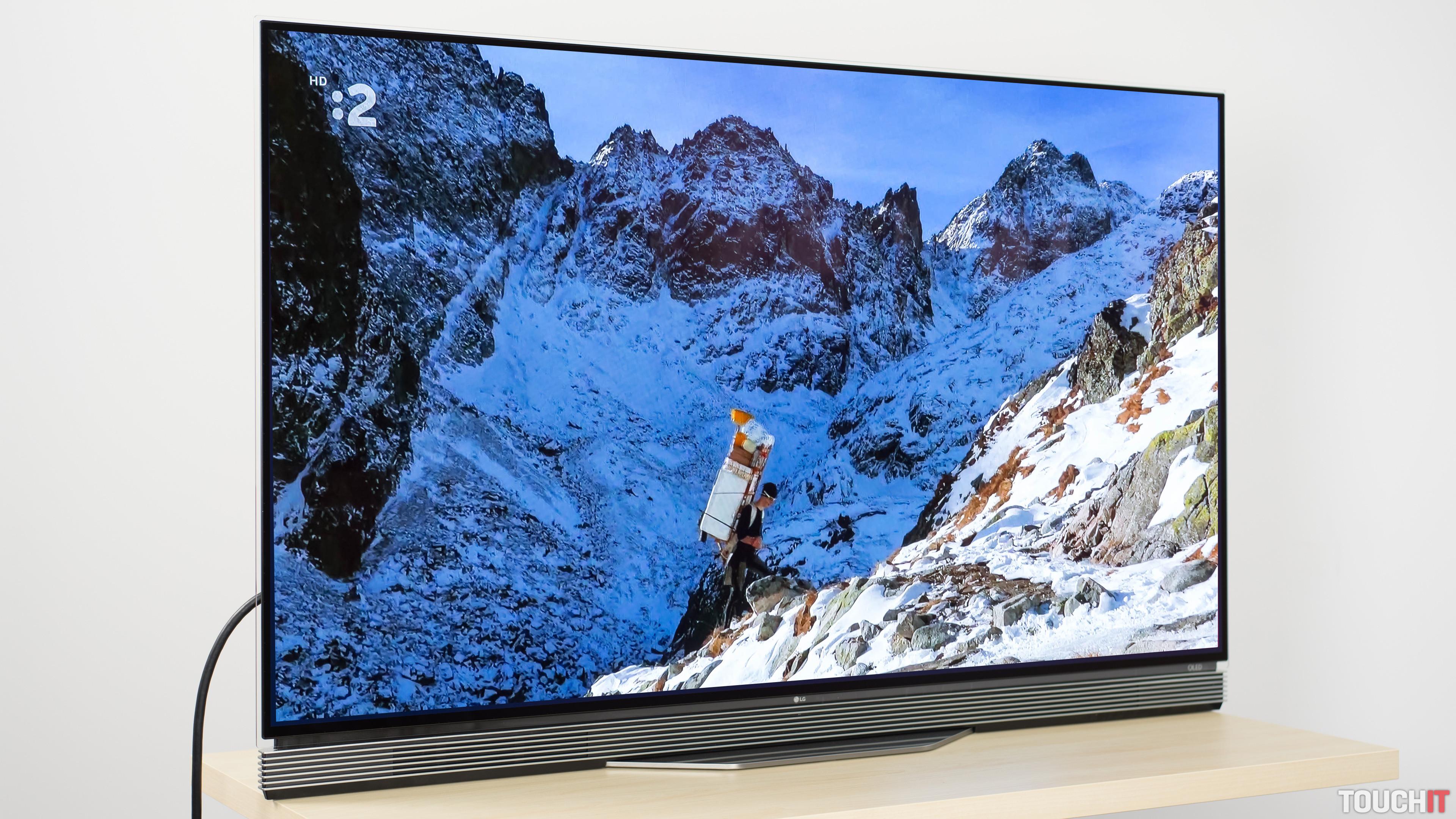 cc0ef5545 Cez Vianoce sme mali kvalitný televízny zážitok. Testovali sme OLED  televízor, ktorý poskytuje super kvalitu obrazu. Za rok 2016 to bol z  hľadiska kvality ...