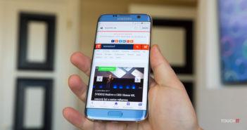 Galaxy S7 Edge so zakriveným displejom
