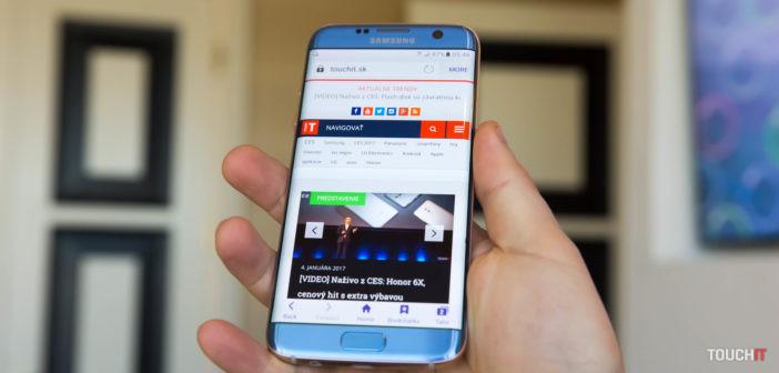Modrá Galaxy S7 edge je už v Telekome. Potvrdzujeme, že vyzerá najlepšie z farieb