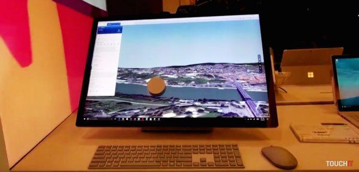 VIDEO TOUCHIT: Bratislava na dlani, vyskúšali sme Microsoft Surface Studio