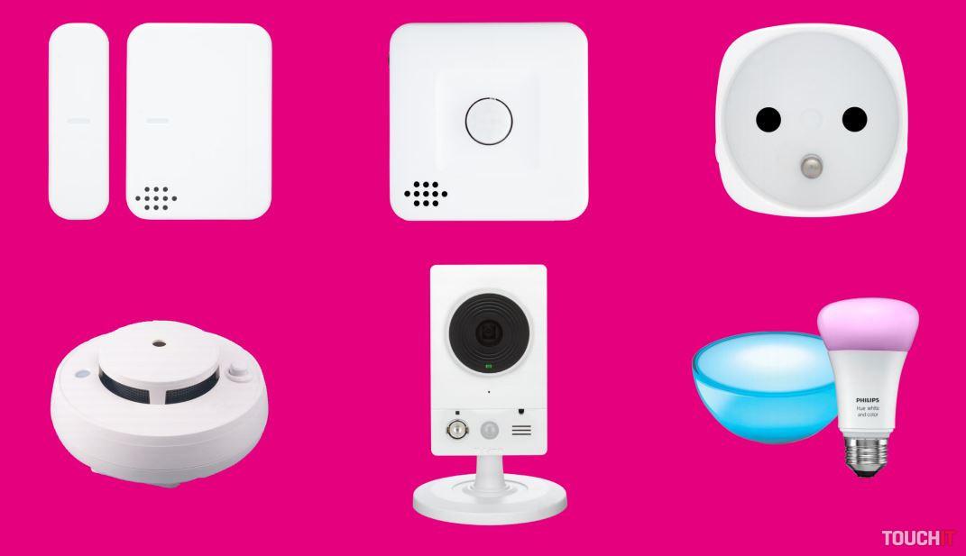 telekom m rie enie smarthome pre inteligentn dom cnos predstavil prv zariadenia a to na. Black Bedroom Furniture Sets. Home Design Ideas