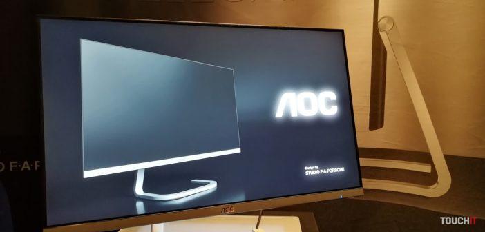 AOC: Najtenší monitor na svete s dizajnom od Porsche je už v predaji na Slovensku. Poznáme ceny (doplnené)