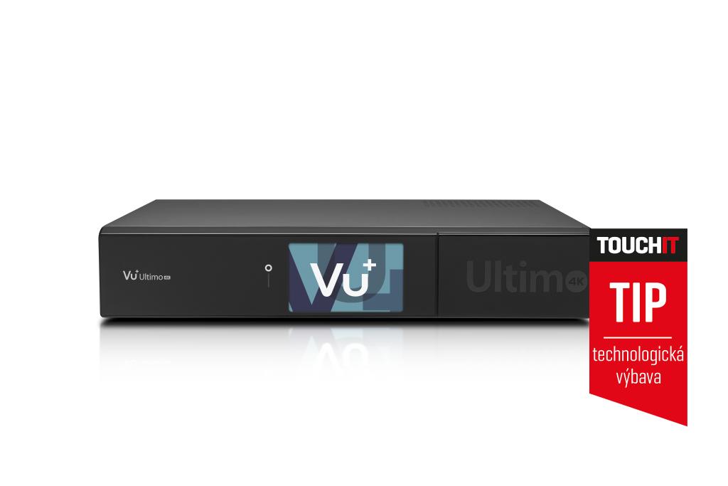 1b889477e VU+ ULTIMO 4K – satelitný prijímač (nielen) so 4K rozlíšením, 1. časť
