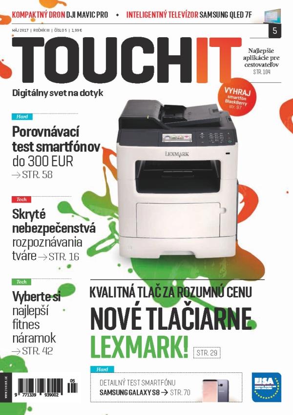Nové vydanie TOUCHIT je v predaji