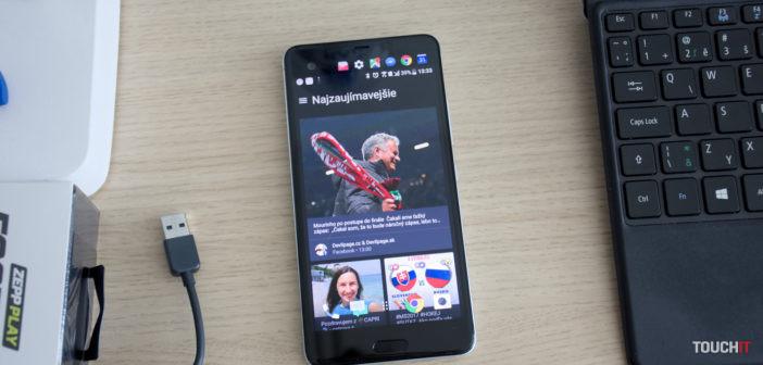 Recenzia HTC U Ultra: Obor s dvoma displejmi
