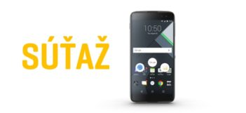 Vyhrajte smartfón BlackBerry DTEK60