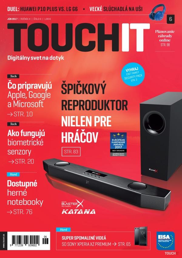 Nové vydanie TOUCHIT v predaji