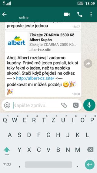 bd51edbe7 TopAplikacie.sk - WhatsAppom sa šíri podvodná správa s kupónmi ...