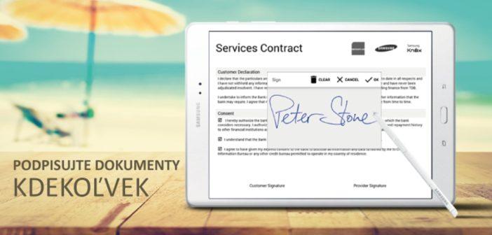 Ako získať elektronický podpis do mobilu?