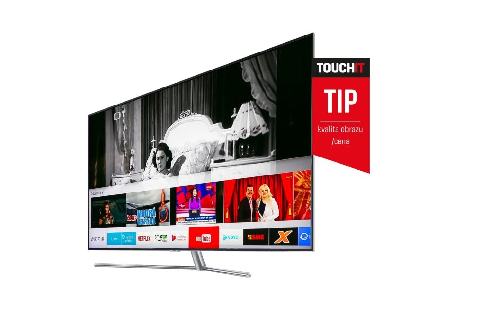 f870ccf42 Inteligentný televízor Samsung QLED 7F | TOUCHIT