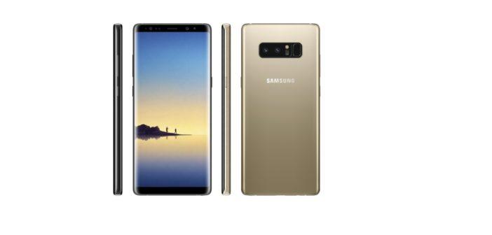 Samsung Galaxy Note 8: Pozrite si ho v celej kráse, poznáme finálne špecifikácie a dátum predaja (doplnené)