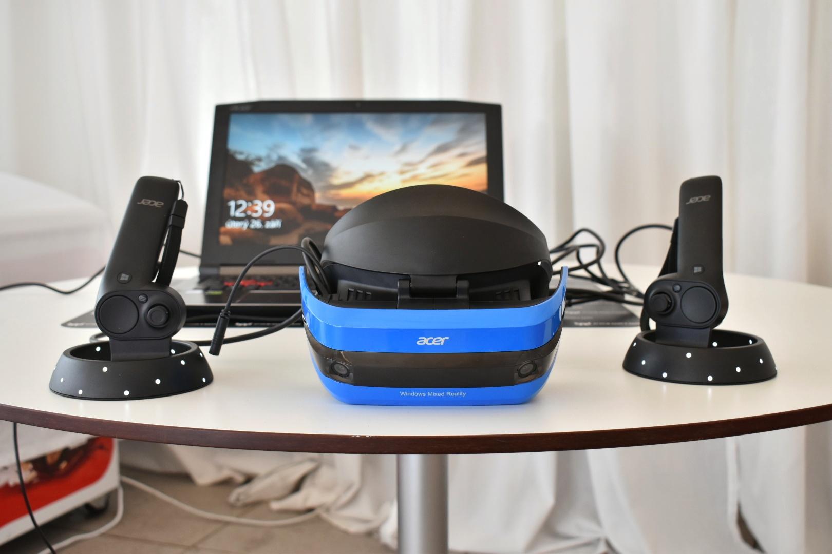 2e3ad38fa Acer Windows Mixed Reality Headset: Vyskúšali sme VR okuliare od  spoločnosti Acer. Poznáme dostupnosť a predpokladanú cenu