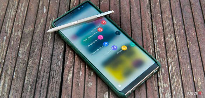 10 tipov na šikovné využitie dotykového pera S Pen v telefóne Samsung Galaxy Note8