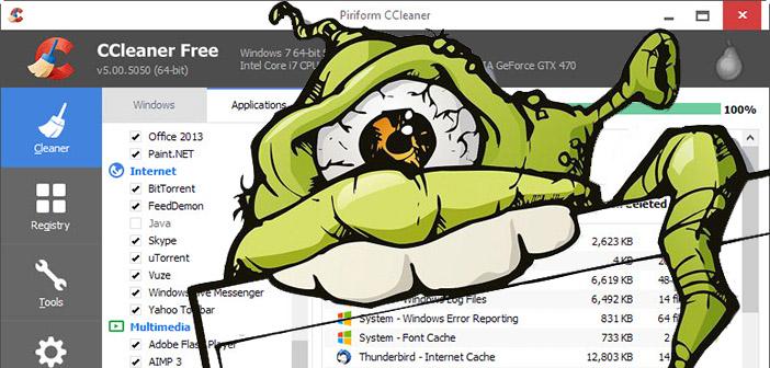 CCleaner bol takmer mesiac infikovaný škodlivým softvérom