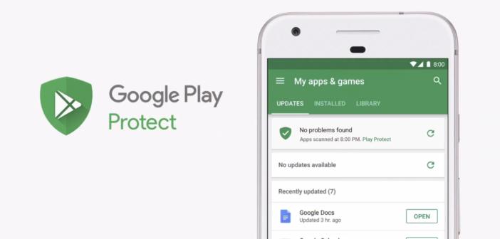 Aplikácia Obchod Play obsahuje novú funkciu Google Play Protect. Čo to je?