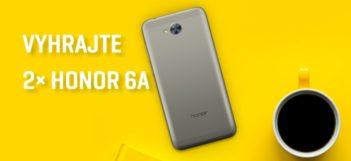 SÚŤAŽ: Vyhrajte 2× smartfón Honor 6A