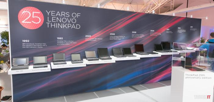VIDEO TOUCHIT: Ako sa vyvíjal notebook ThinkPad od roku 1992?