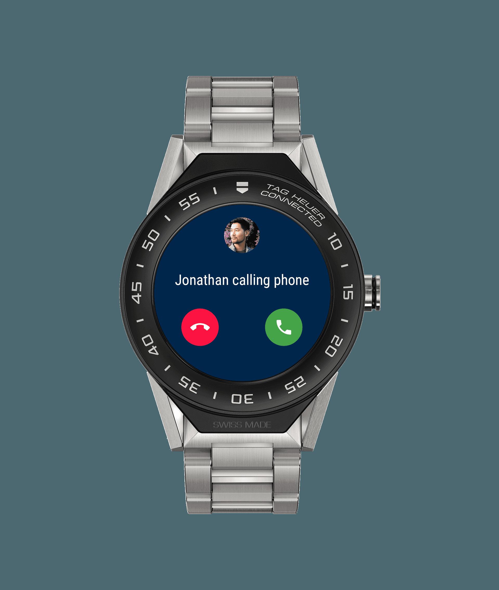 Švajčiarsky výrobca luxusných hodiniek TAG Heuer uviedol na trh nové  inteligentné hodinky s operačným systémom Android Wear. Novinka s označením  Connected ... 926b94b9e33