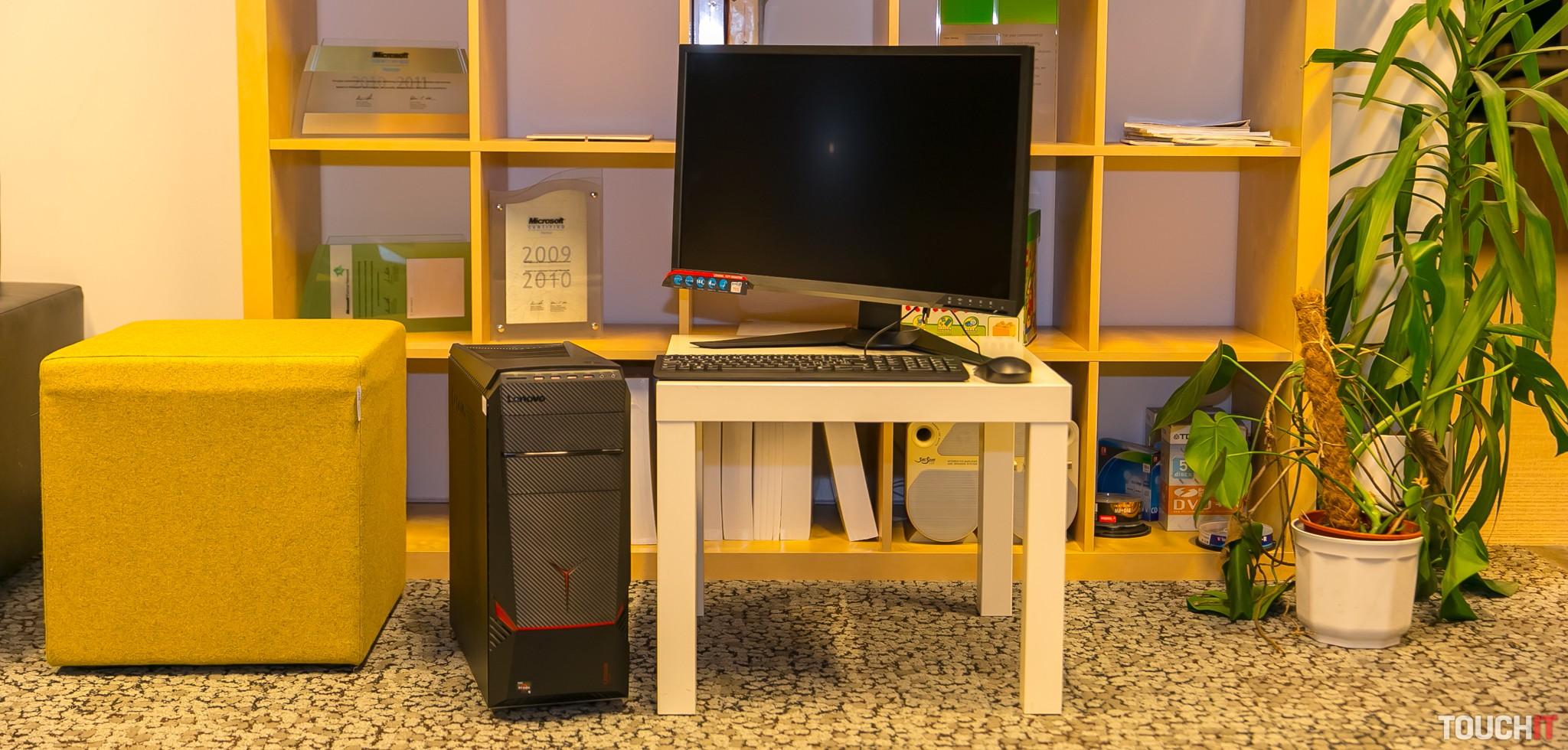 7c6aeaea5 Recenzia Lenovo Legion Y720 Tower (AMD): Herný počítač s výbavou od AMD