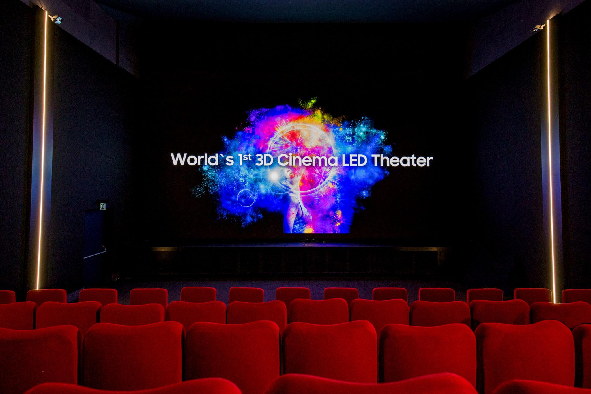 5d0c7eabf Samsung predstavuje vo Švajčiarsku prvé kino na svete s obrazovkou 3D Cinema  LED
