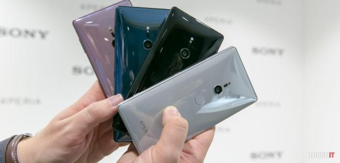 Sony Xperia XZ2: Na Slovensku odštartovali predobjednávky, darčekom sú slúchadlá za 370 eur