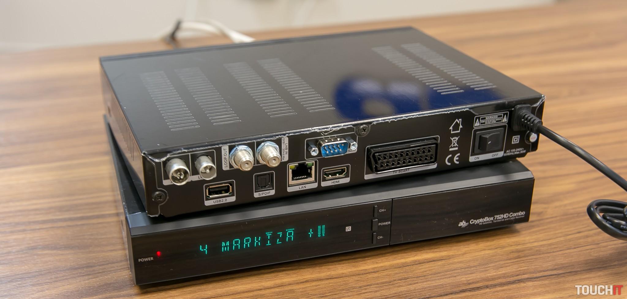 74f71267c VIDEO TOUCHIT: Prichádzajú nové satelitné prijímače AB Cryptobox 750 a 752  Combo