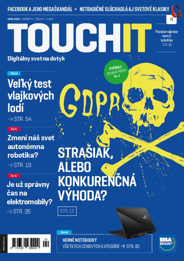 Nové číslo časopisu TOUCHIT už v predaji