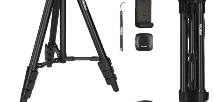 d12e70ddd Rollei uvádza nový statív pre mobilné telefóny s diaľkovým ovládaním ...