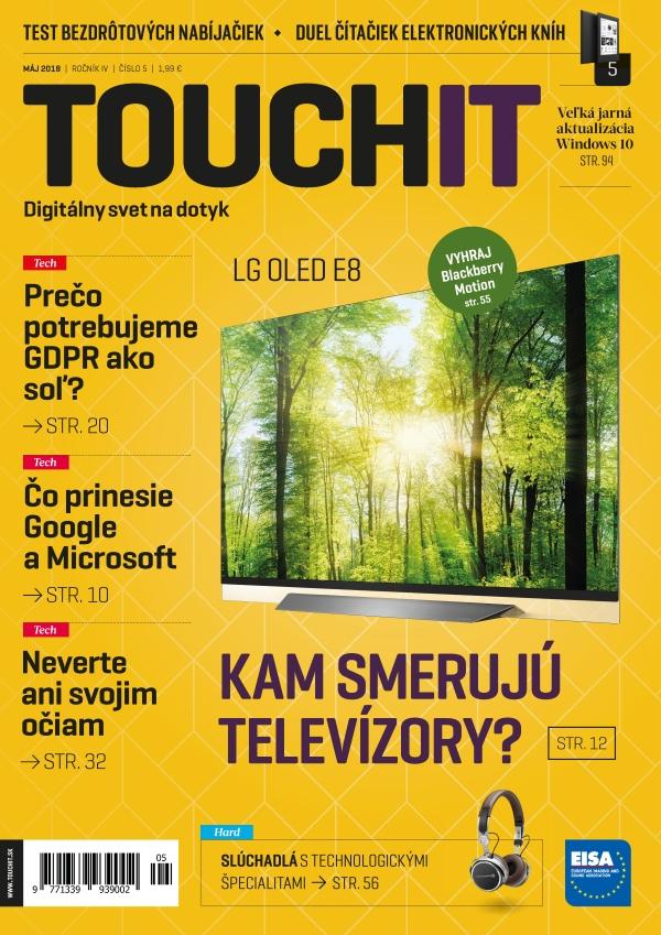 Nové číslo časopisu TOUCHIT už čoskoro