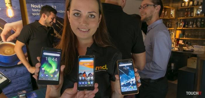 Priamo z Moskvy: Nokia predstavila tri nové smartfóny. Opäť chce zaujať cenou (doplnené o video)