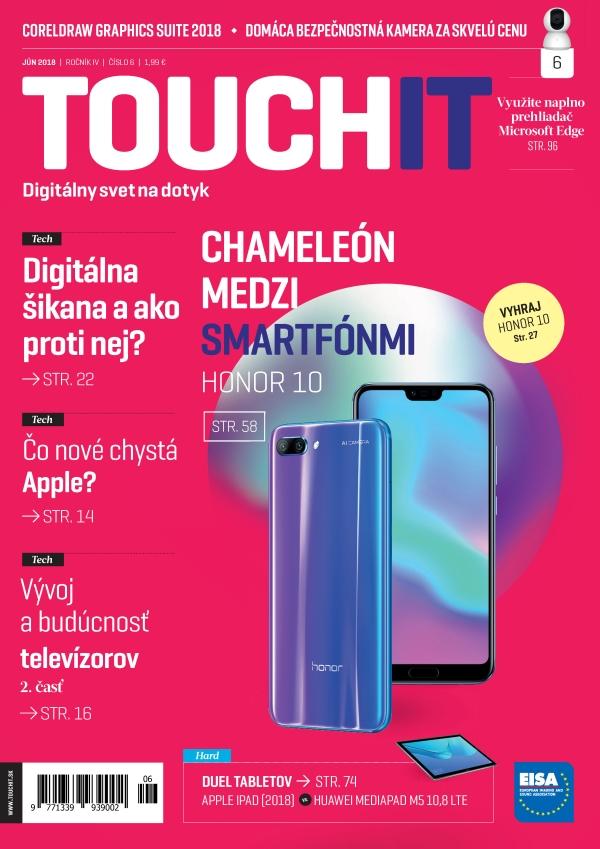 Nové vydanie časopisu TOUCHIT už čoskoro v predaji