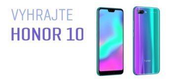 SÚŤAŽ: Vyhraj nový štýlový HONOR 10