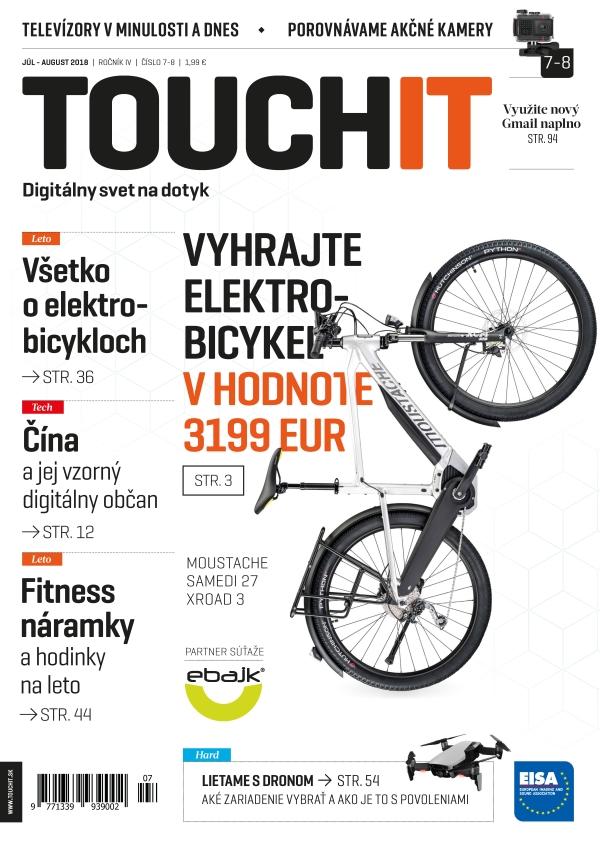 Nové vydanie časopisu TOUCHIT už v predaji