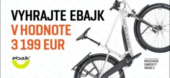 Vyhrajte elektrobicykel v hodnote 3199 EUR