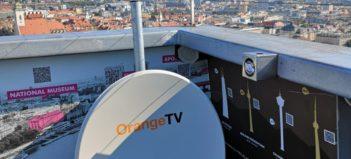 Orange TV cez satelit