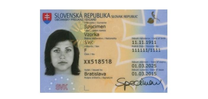 Slovenska Elektronicka Identifikacna Karta Eid 3 Cast Touchit