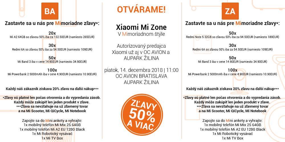 Druhá šanca  Xiaomi otvára ďalšie predajne. Vieme kde c88f6a25286