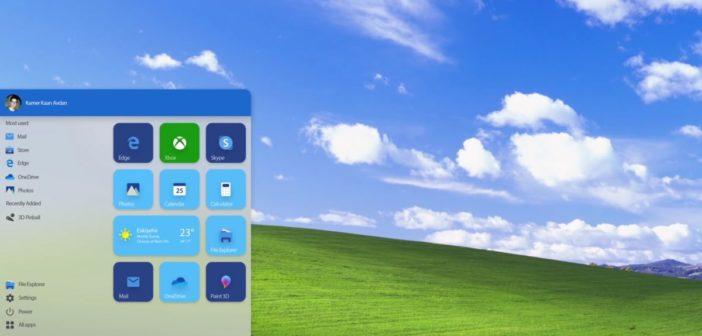 windows 11 / XP illustration